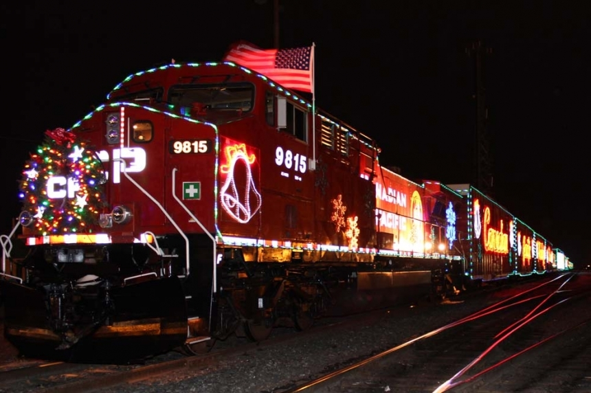 Holiday Train lights up Saskatchewan railways