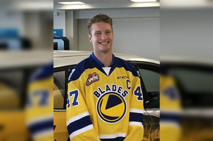 Saskatoon Blades name Fiala as new captain