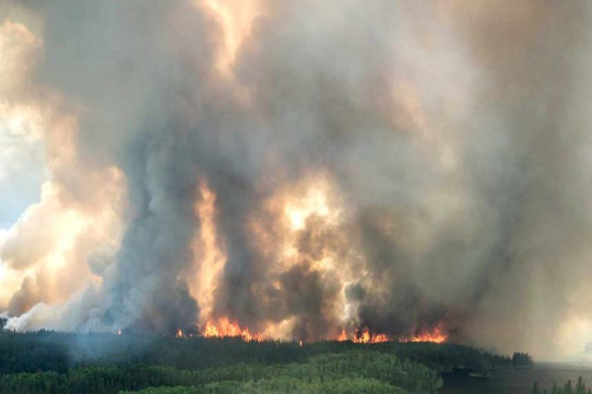 Year in Review: Northern wildfires force thousands to evacuate