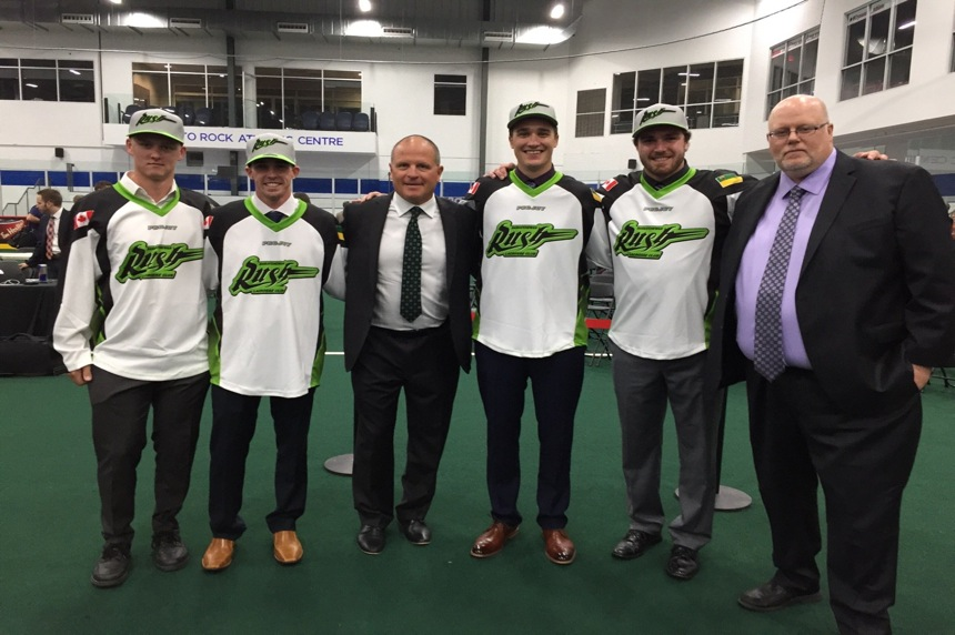 Rush add 5 new players in NLL draft