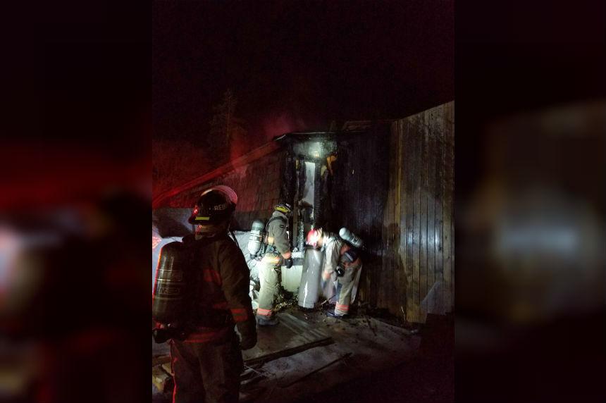 Crews make quick work of Avenue E house fire