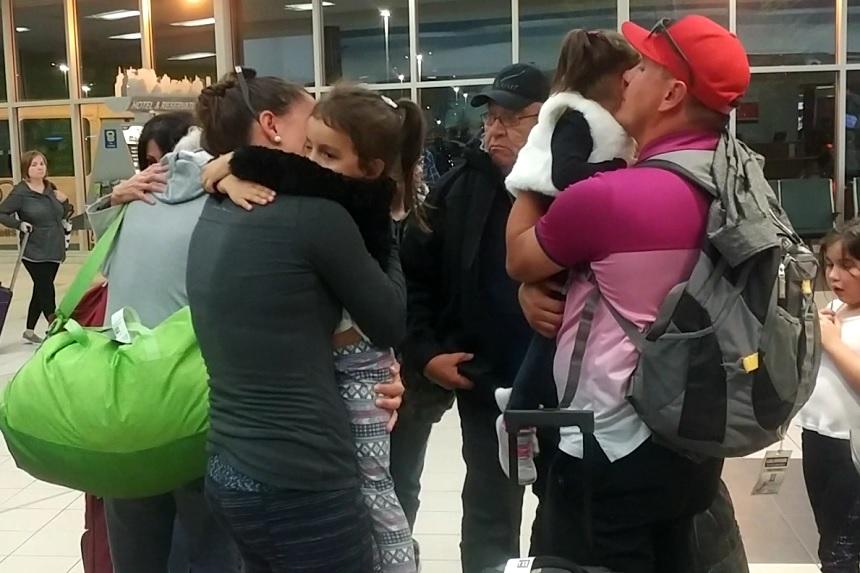 Families reunite in Saskatoon after escaping Vegas massacre