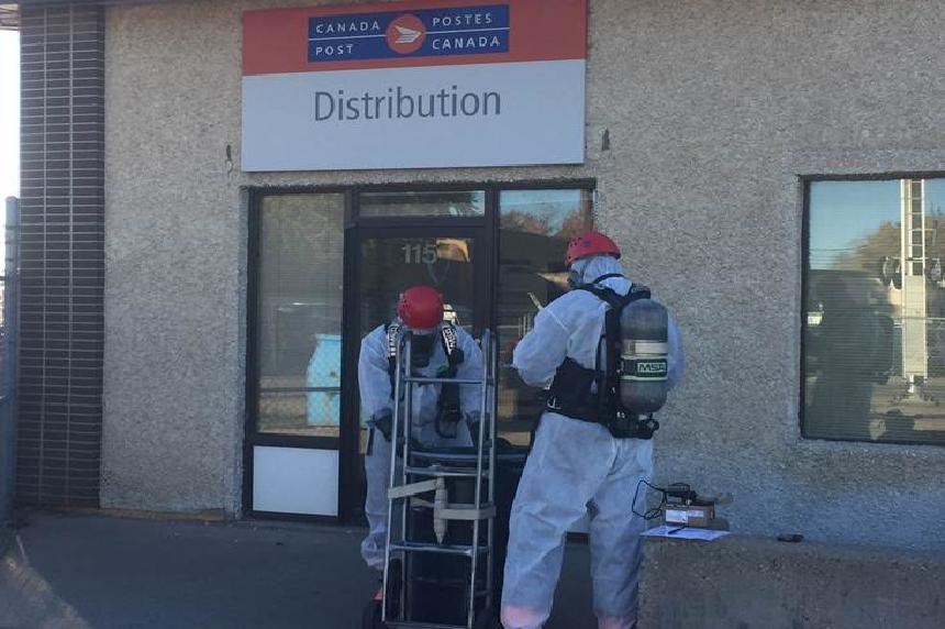 Crews investigate suspicious package in Saskatoon