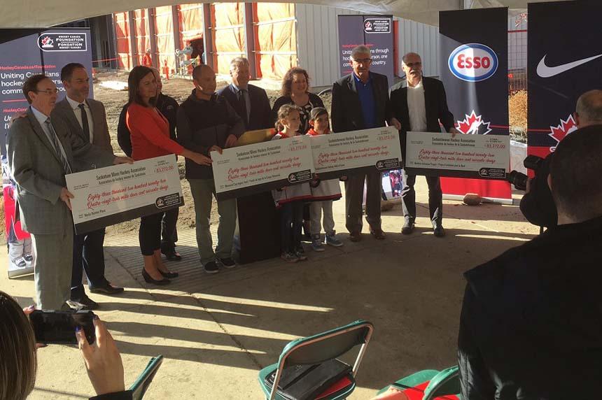 Hockey Canada donates $333K to Sask. organizations