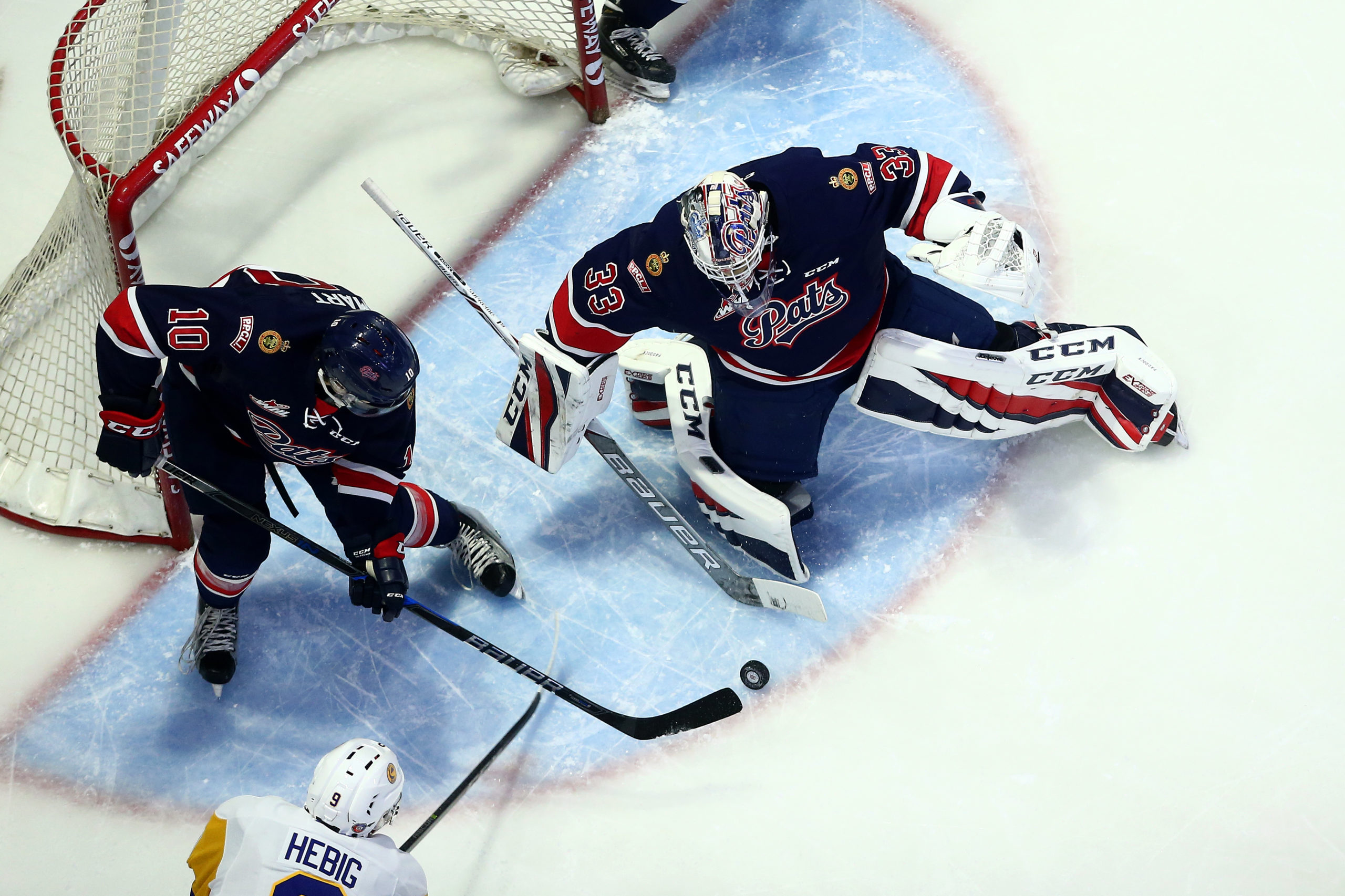 Blades get revenge on the Pats with 6-4 win