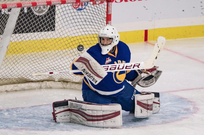 Blades score a win in Red Deer