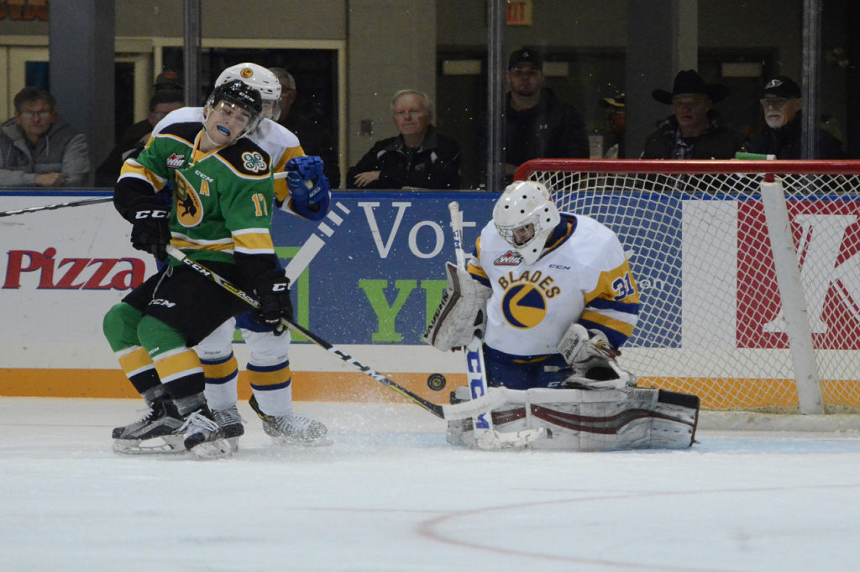 Blades leave weekend with a pair of wins