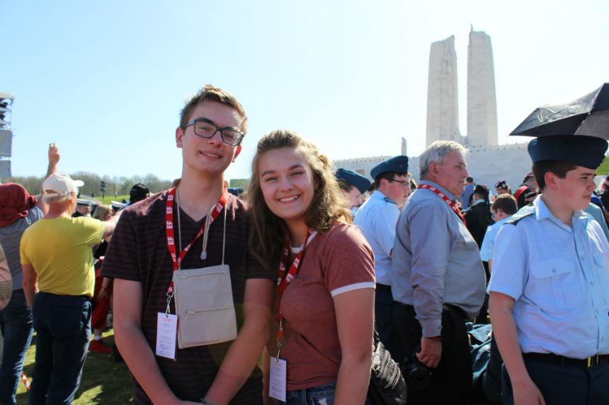 Sask. high school student reflects on Vimy Ridge centennial