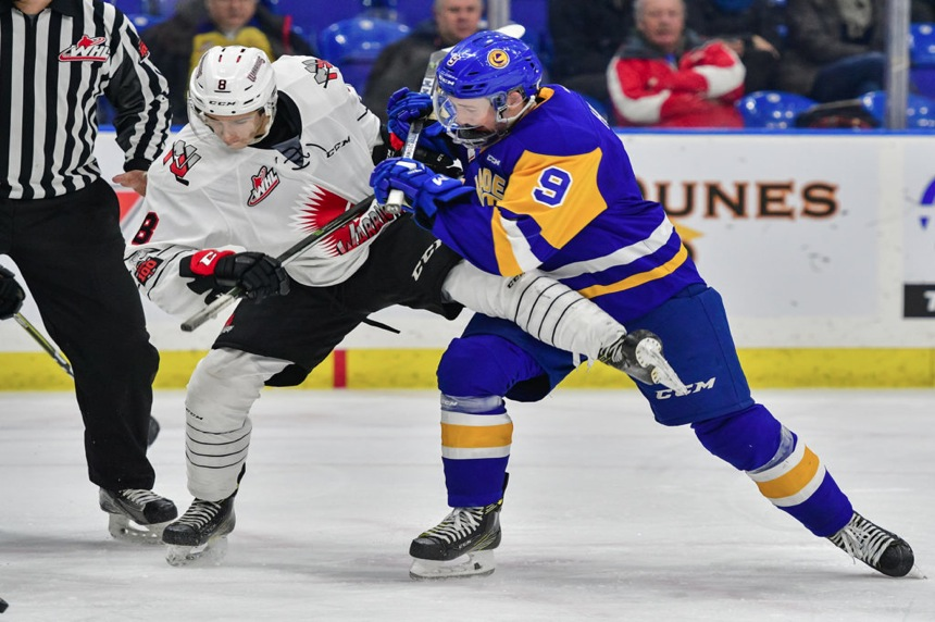 Blades rally to save point in Moose Jaw