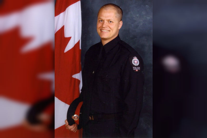 Edmonton police officer stabbed, rammed by car, says life back to normal