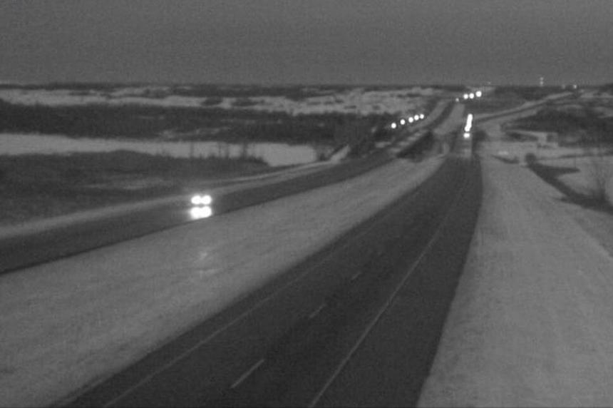 Freezing rain creates icy conditions in and around Saskatoon