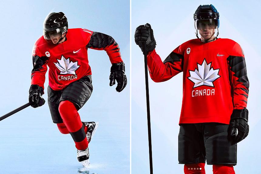 Hockey Canada unveils 2018 Olympic jerseys