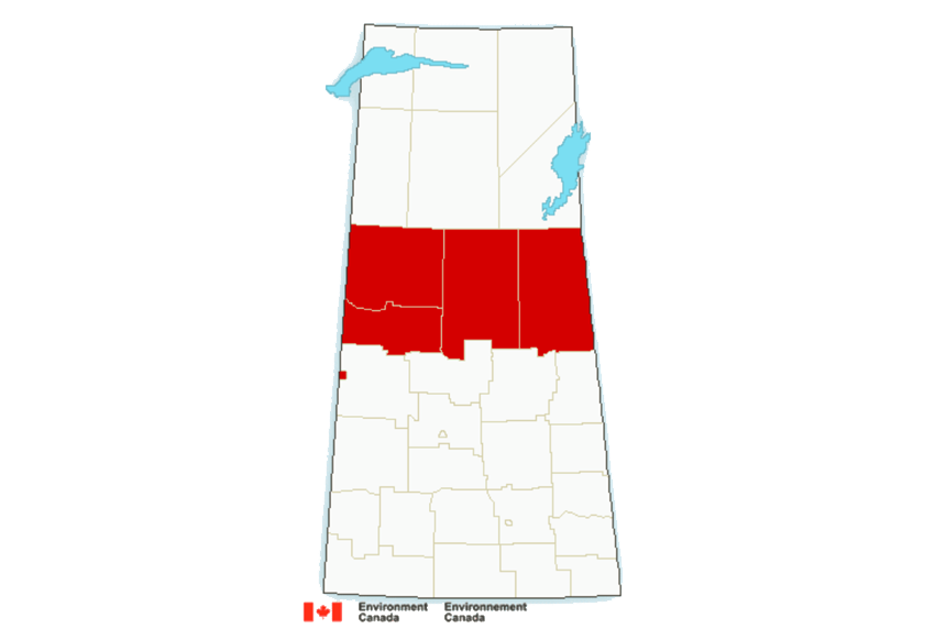 Snowfall warnings issued for Northern Sask.