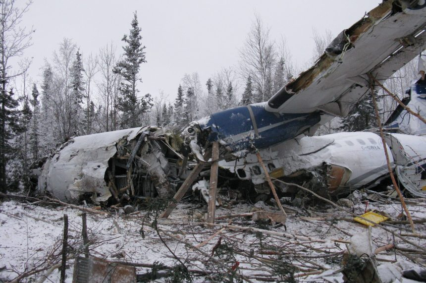 Crashed plane wasn't de-iced before takeoff: TSB