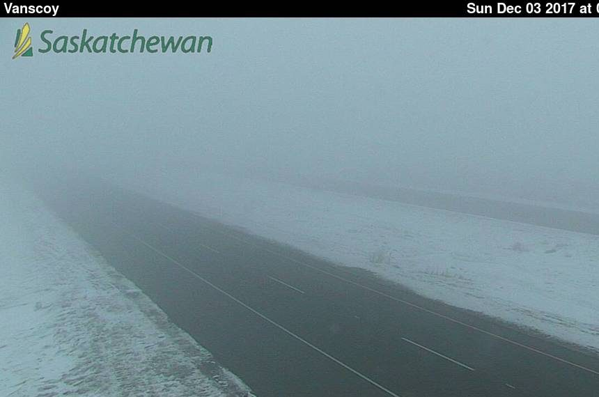 Fog makes for tough visibility on Sask. highways