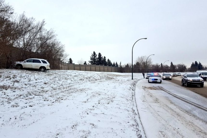Drivers contend with slick roads in Saskatoon