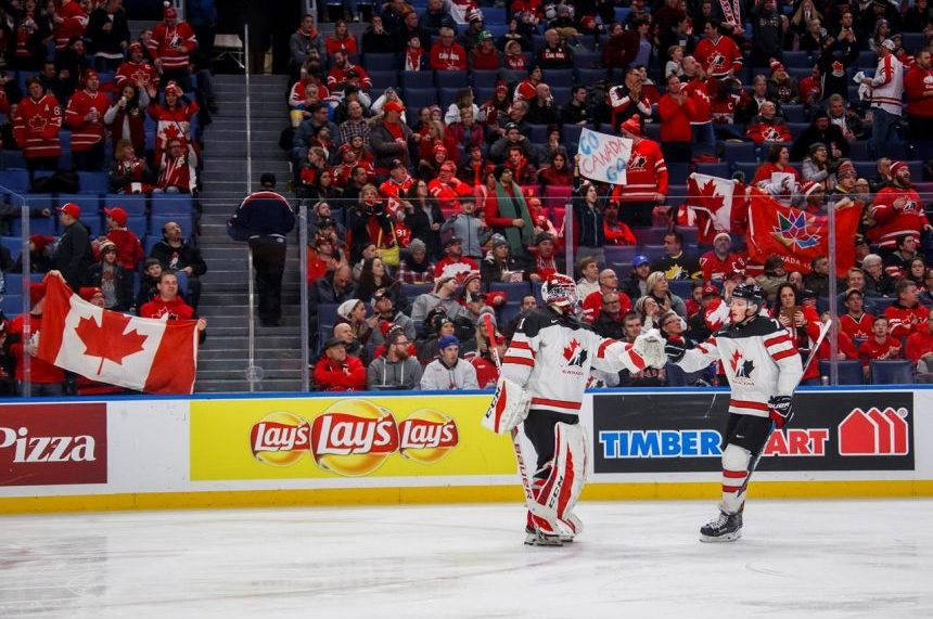 Howden scores twice as Canada routs Denmark 8-0 to win Group A at world juniors
