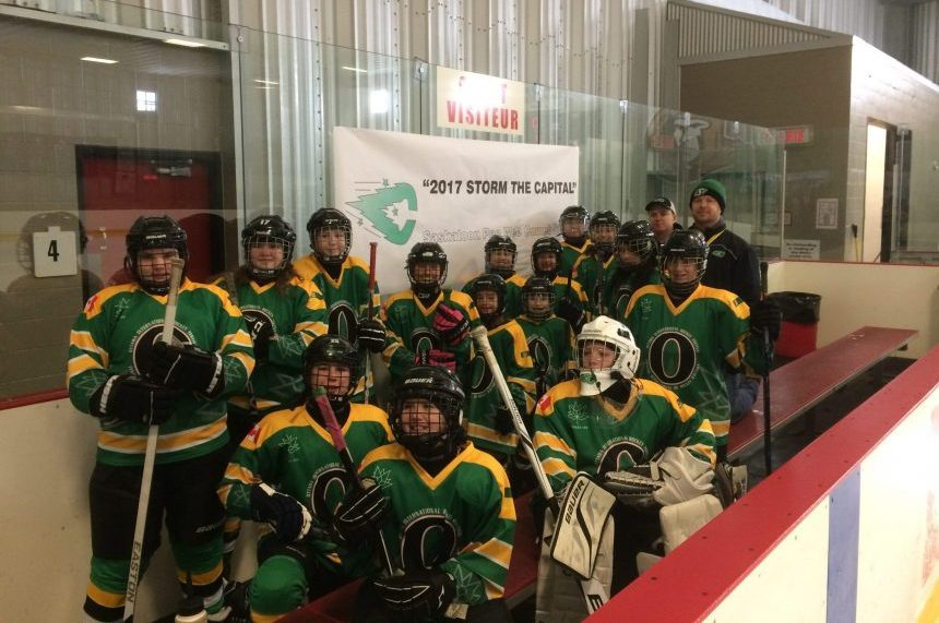 Cold weather snaps thrill from Sask. girls hockey team