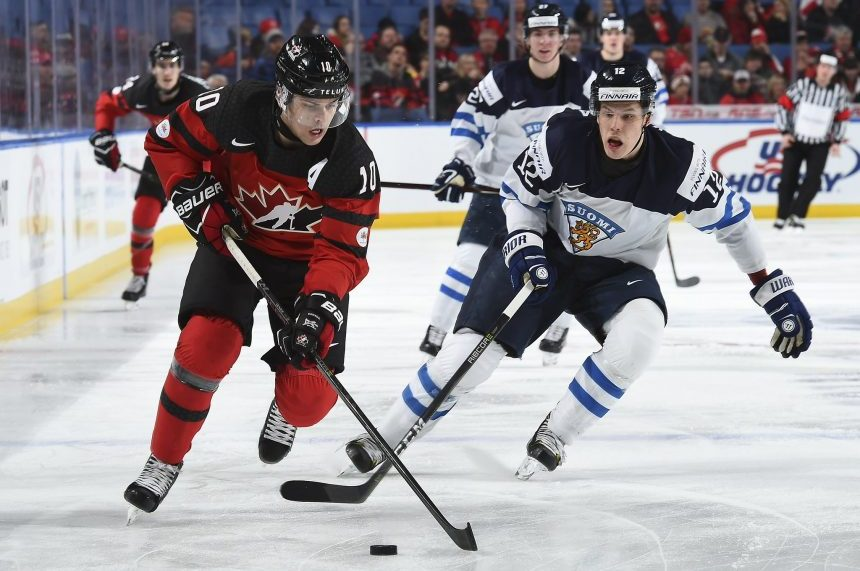 Boris Katchouk leads Canada past Finland 4-2 to open world juniors