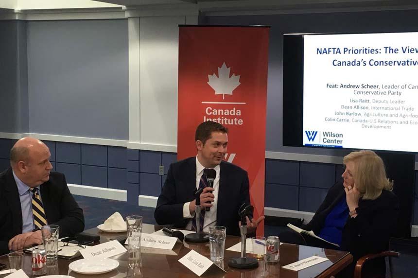 Scheer: Canada speaks with one voice on renegotiating NAFTA deal