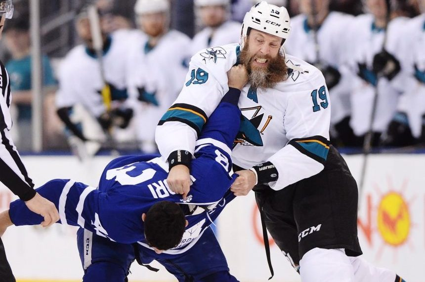 Grabbing a beard? Like some other leagues, the NHL has it covered