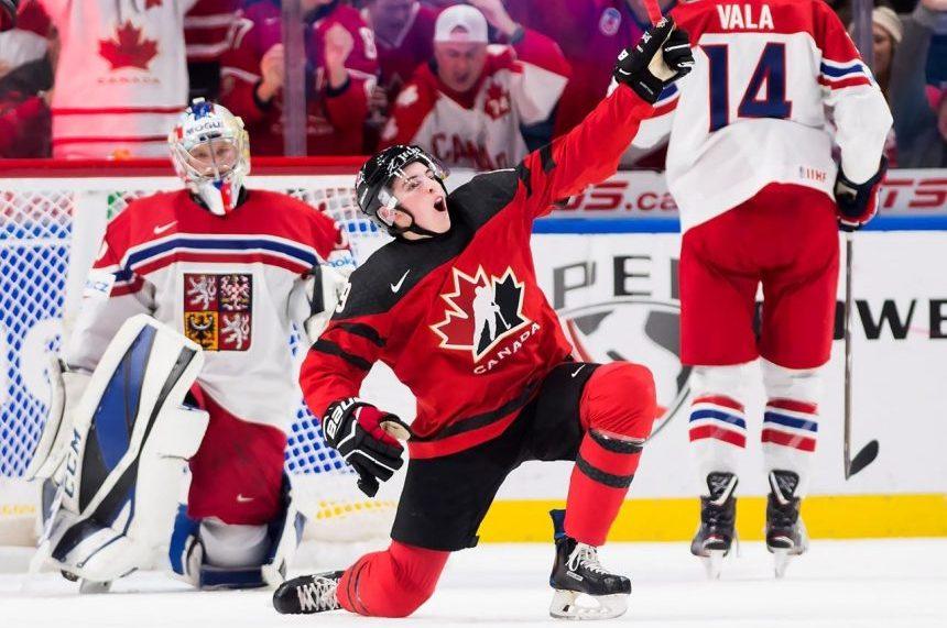 Canada defeats Czech Republic 7-2 in World Juniors semifinal