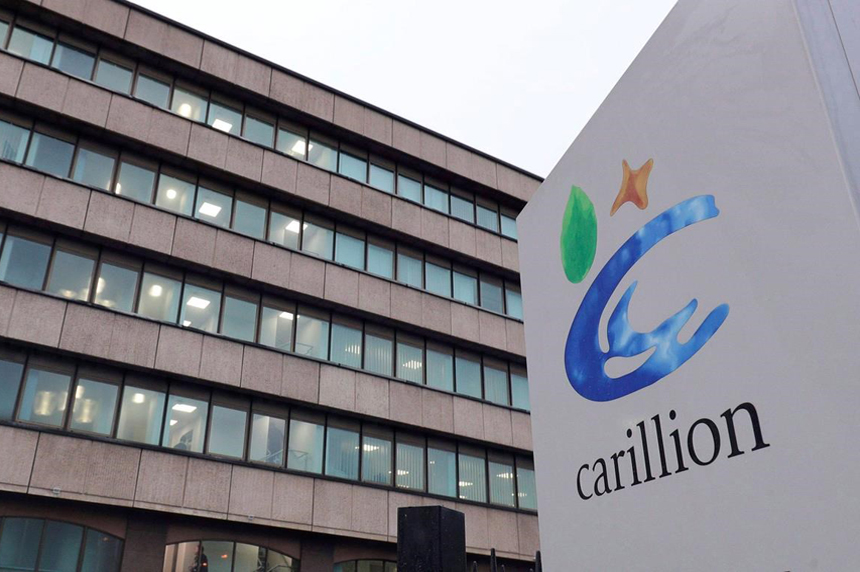 Canadian arm of U.K. construction giant Carillion files for creditor protection