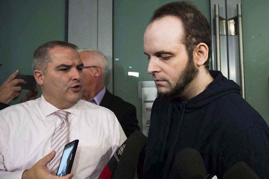 Former Afghanistan hostage Joshua Boyle appears in court in Ottawa