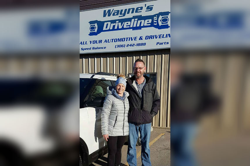 Businesses work together to repair cancer patient's vehicle
