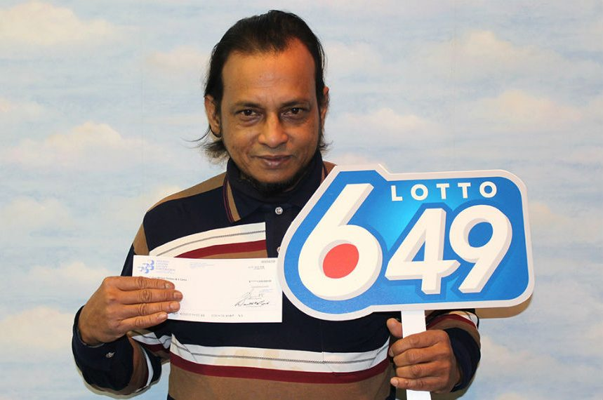 Saskatoon lottery winner collects $1M cheque