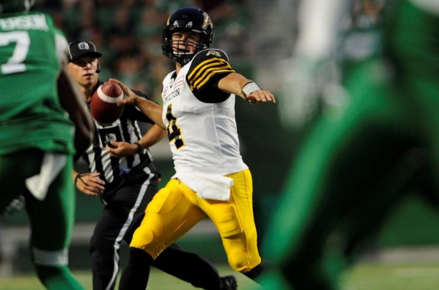 Riders trade for quarterback Zach Collaros