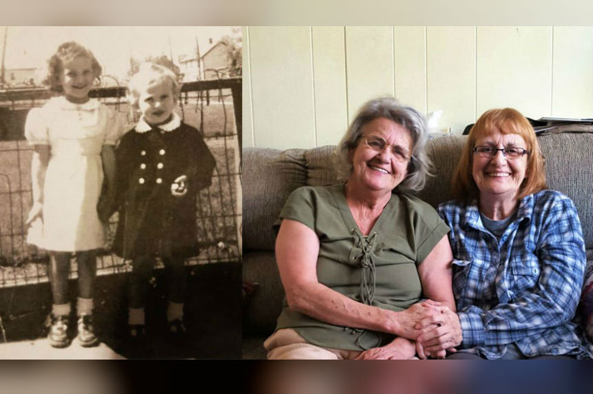'I thought I was alone in the world:' Saskatchewan sisters connect after 65 years