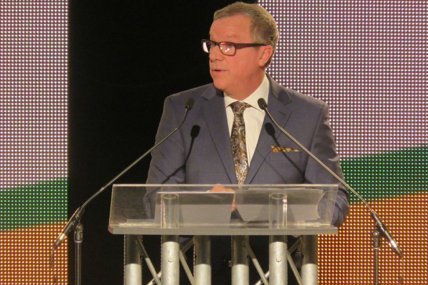 Brad Wall delivers last speech as Sask. premier