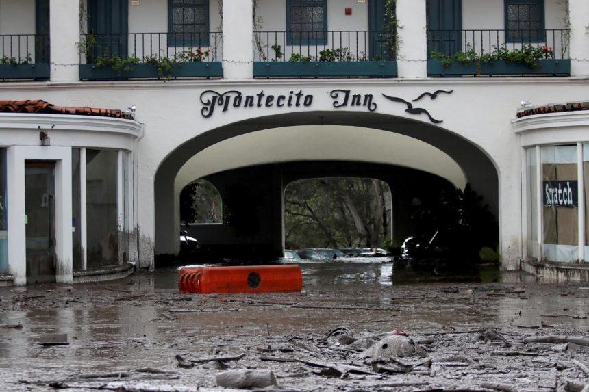 13 dead in Southern California as rain triggers mudslides
