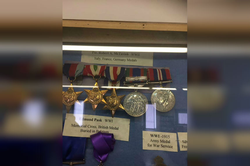 'Devastating:' War heirlooms stolen from Sask. families
