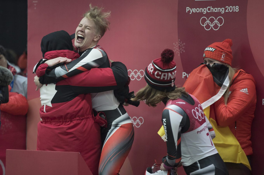 Gough finishes third to earn Canada its first-ever medal in women's luge