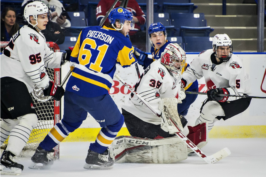 Blades fall to Warriors 4-2, hold on to last playoff spot