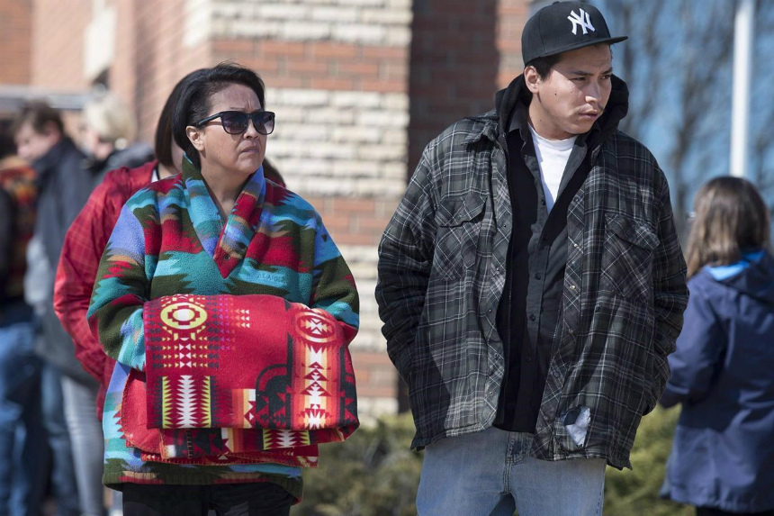 Boushie's family meets federal ministers after acquittal in murder trial