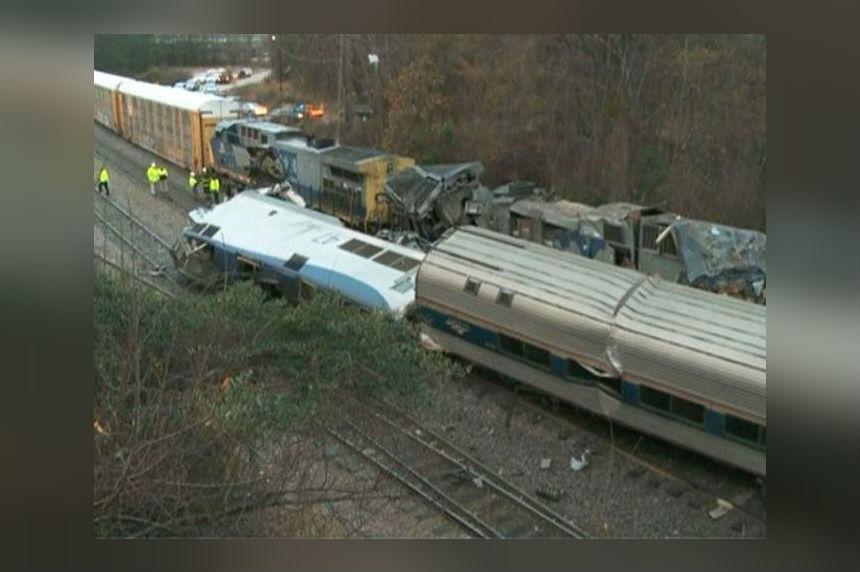 South Carolina train crash leaves at least 2 dead, 70 hurt