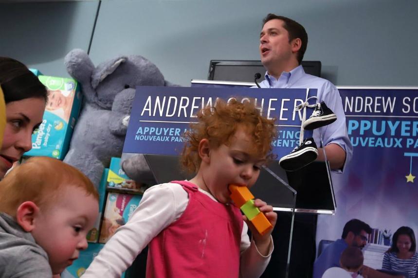 Tories pledge tax break for those on parental leave