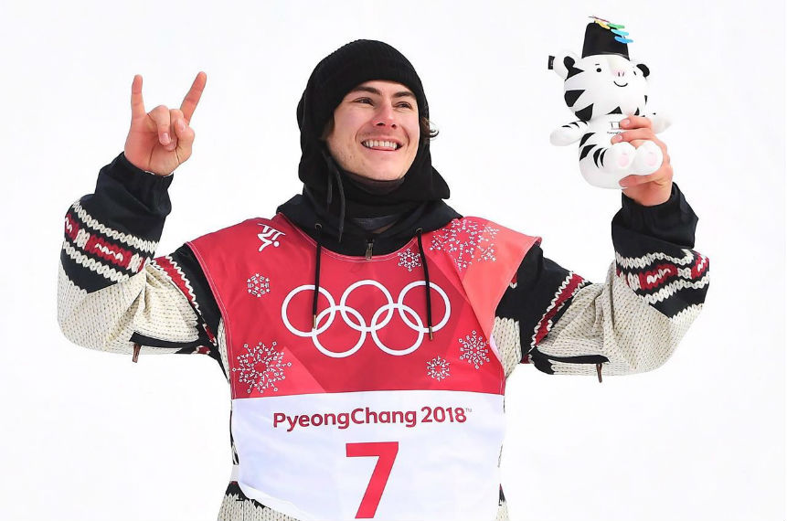 Toutant wins gold in mens big air debut to lead Canada to milestone medal