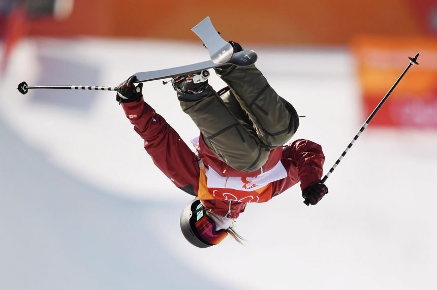 Canada's Sharpe wins gold in women's ski halfpipe at Winter Olympics