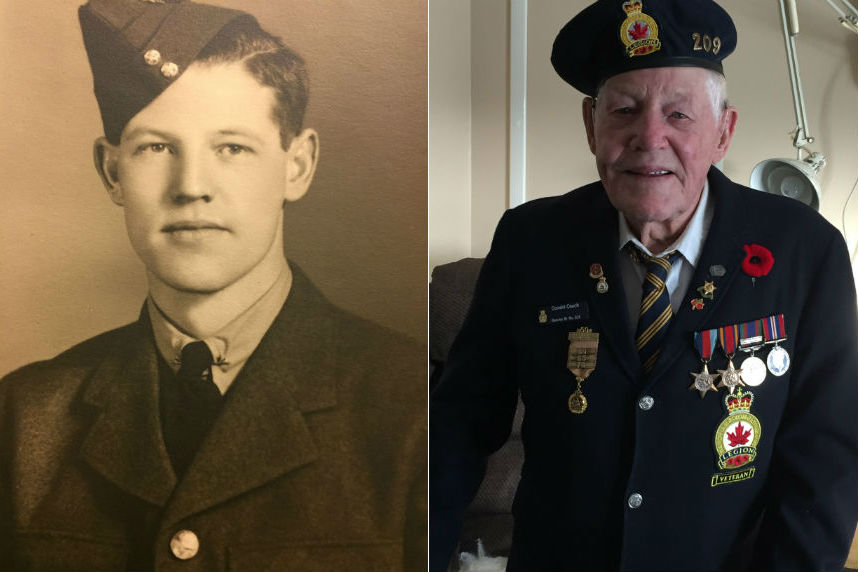 Community, air force help mark Sask. veteran's 100th birthday
