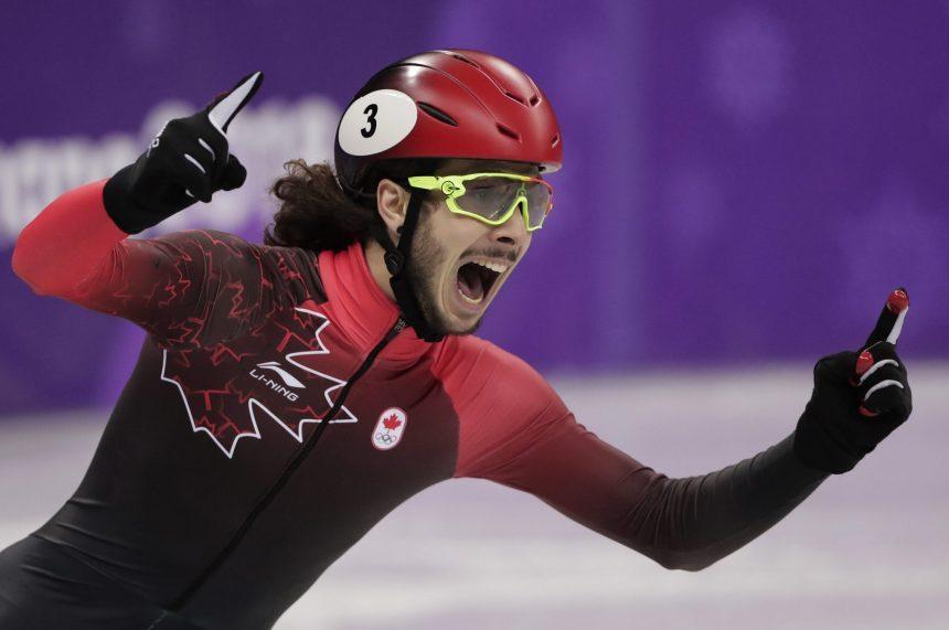 Canada's Samuel Girard wins gold in men's 1,000 metres