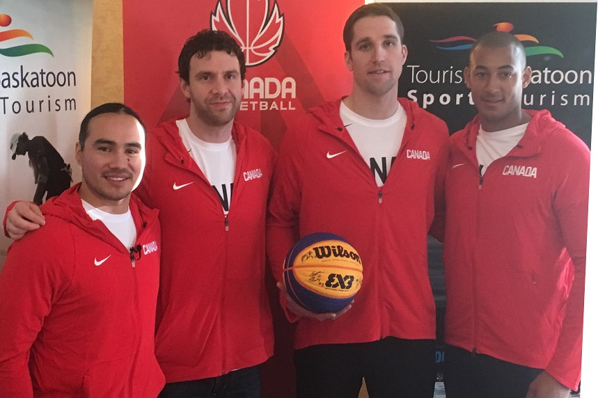 Saskatoon to represent Canada at 3x3 basketball World Cup