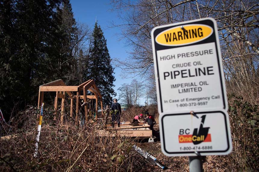 Trans Mountain granted injunction against pipeline protesters at two B.C. sites