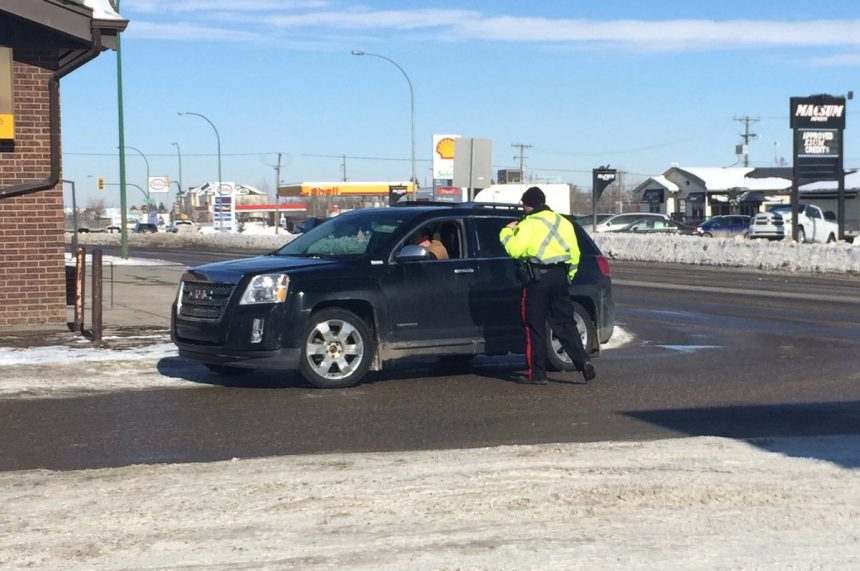 'Very easy:' Sask. police on lookout for distracted drivers