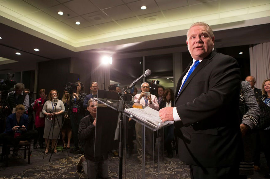 Five things to know about new Ontario Tory leader Doug Ford
