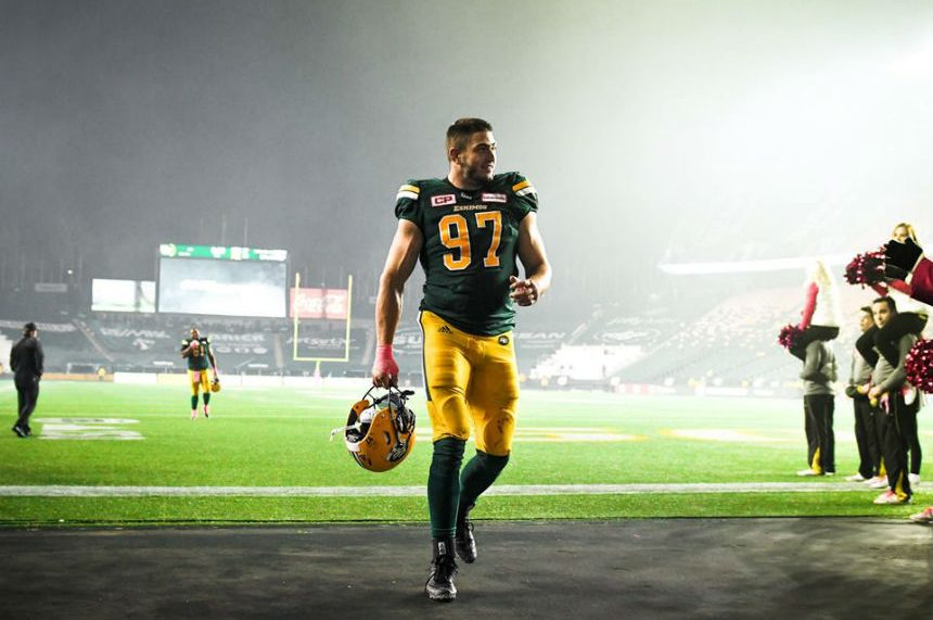 Eskimos defensive end John Chick announces retirement after 8 CFL seasons