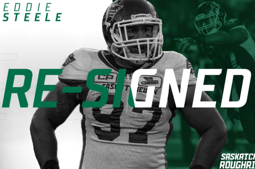 Riders bring back Steele on 1 year contract